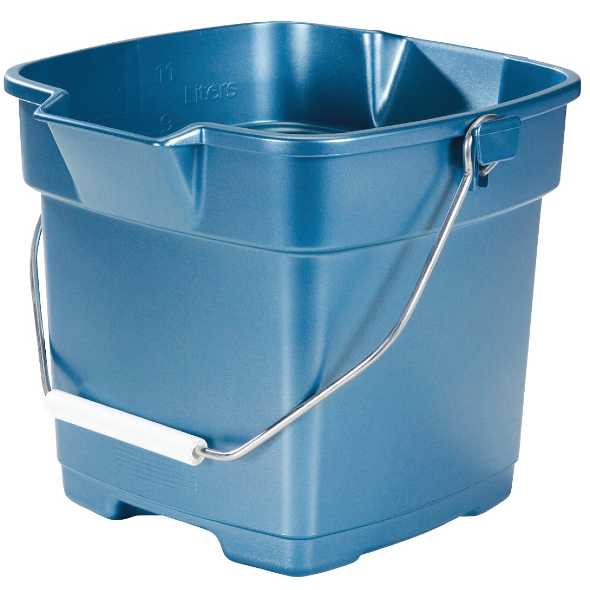 12QT BLUE BUCKET - FG296400ROYBL by Rubbermaid Home