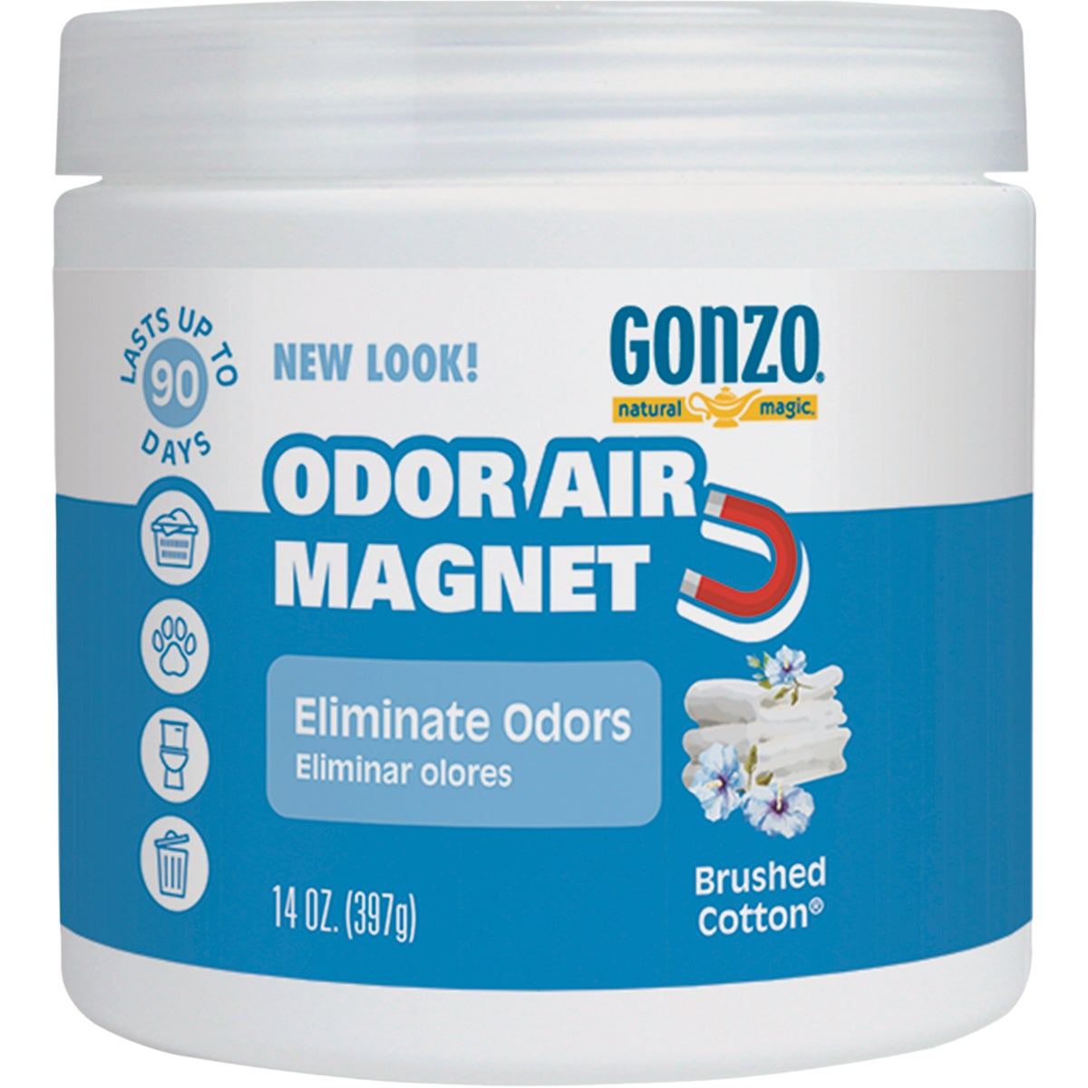 COTTON ODOR ABSORB GEL - 9063 by Magic Ntrl Magic Sci