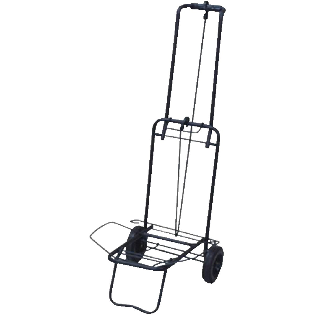 BLACK LUGGAGE CART