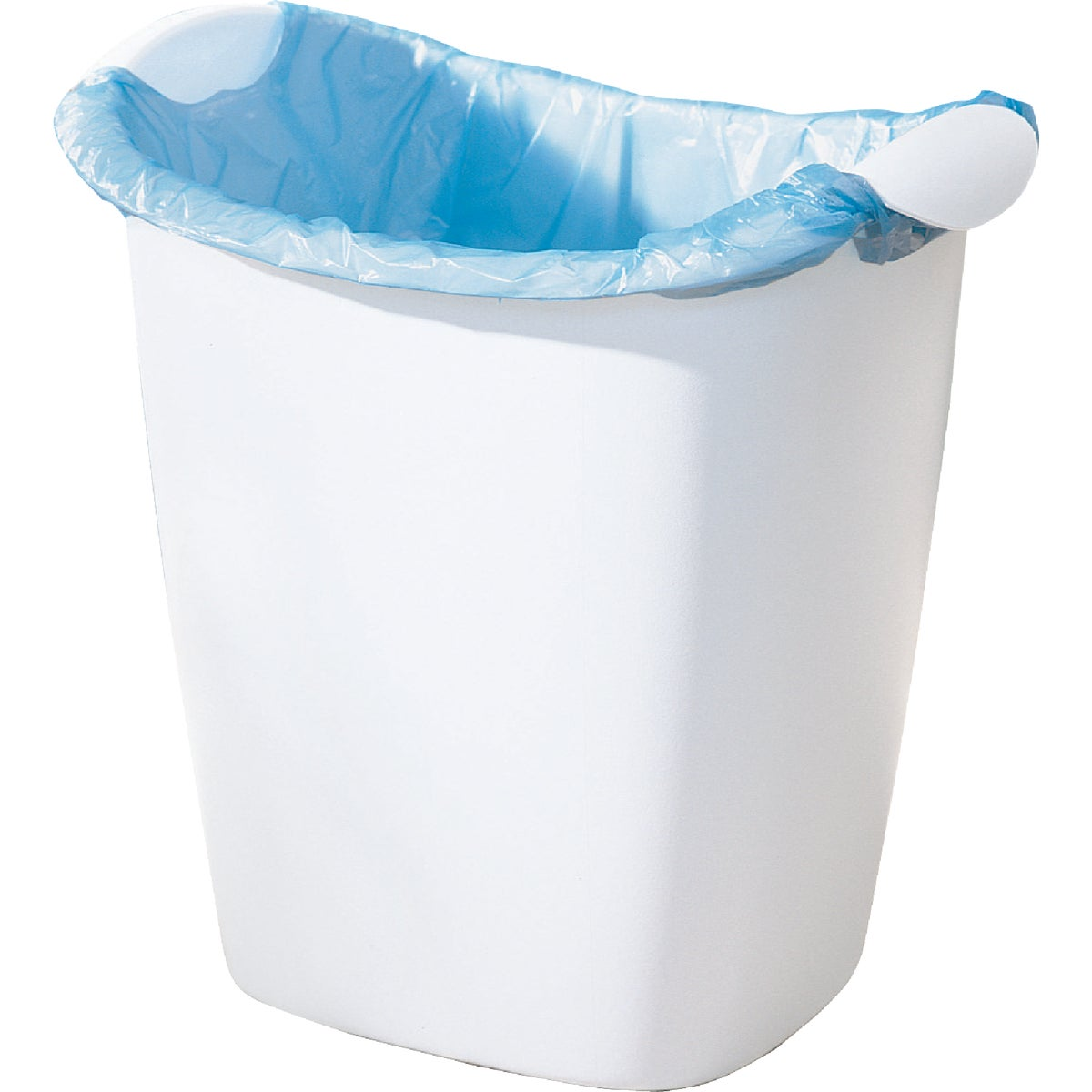 14QT WHITE WASTEBASKET - 2385-00 by Rubbermaid Home
