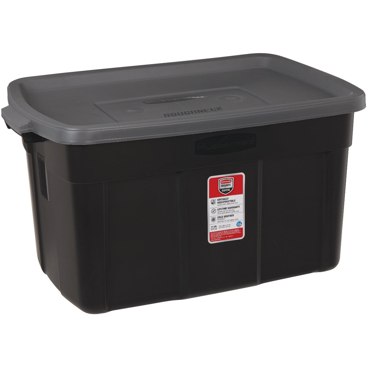 31GAL INDIGO STORAGE BOX - 2244CPDIM by Rubbermaid Home