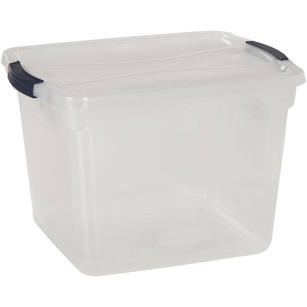30QT LATCHING STORAGE - 3Q2500CLMCB by Rubbermaid Home