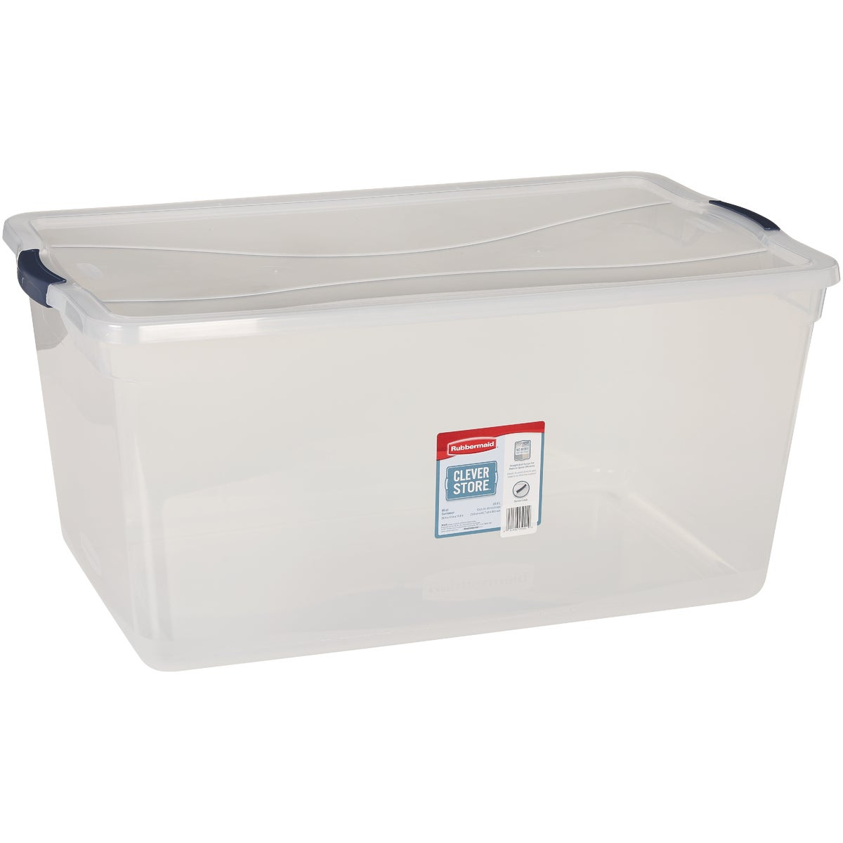 95QT LATCHING STORAGE - 3Q3500CLMCB by Rubbermaid Home
