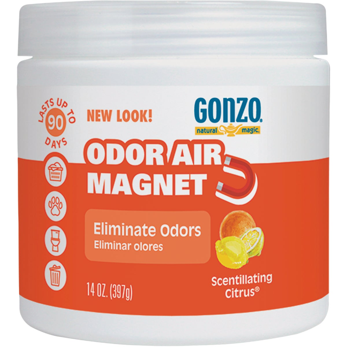 CITRUS ODOR ABSORB GEL - 4041 by Weiman Products Llc
