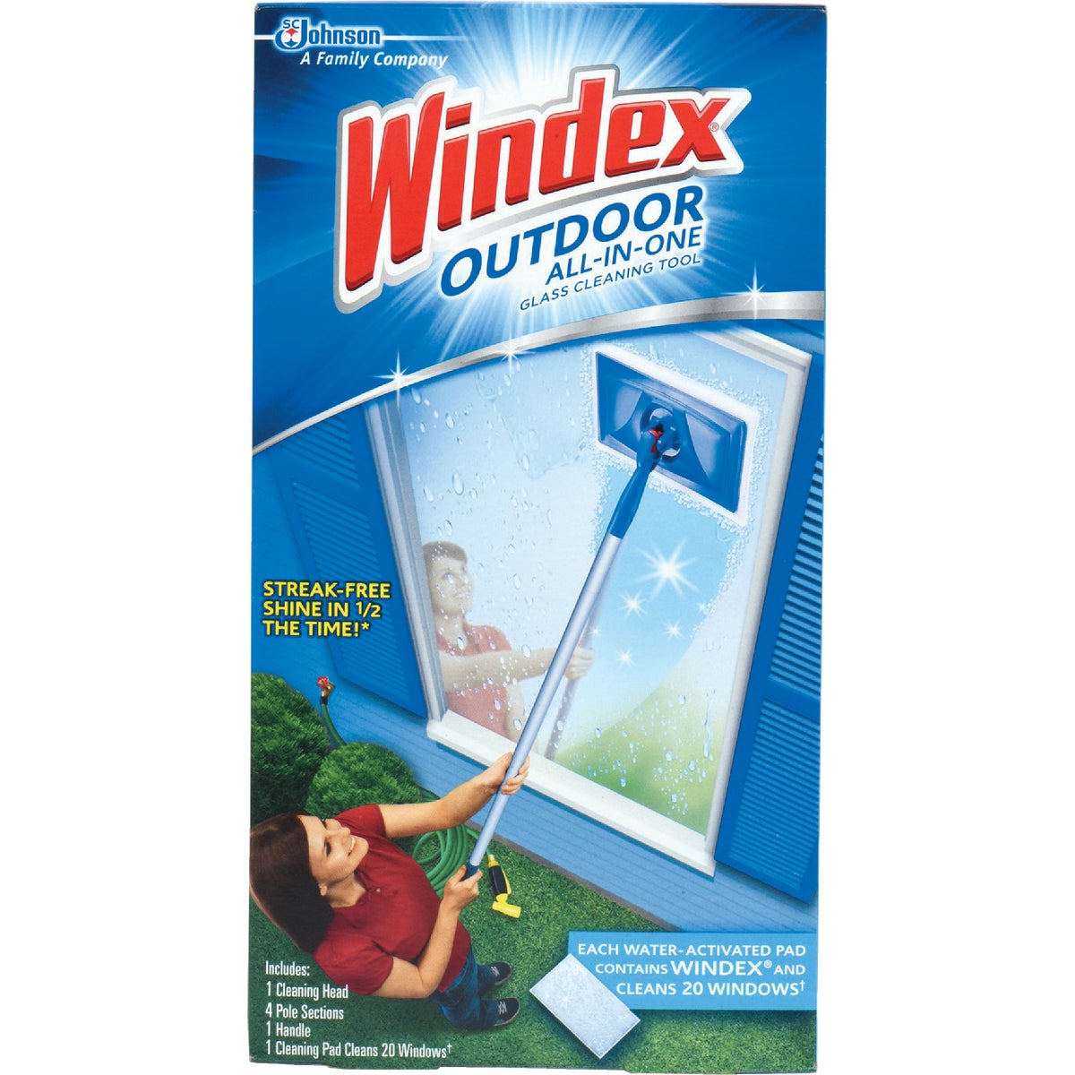 WINDEX OUTDR ALL-IN-ONE - 70117 by Sc Johnson