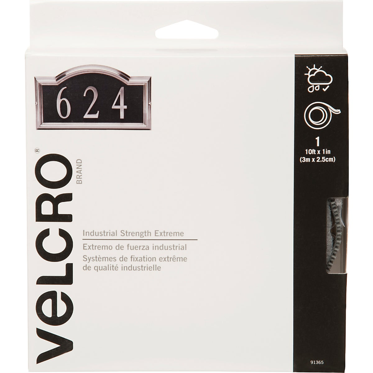 "10'X1"" EXTREME TAPE - 91365 by Velcro Usa"
