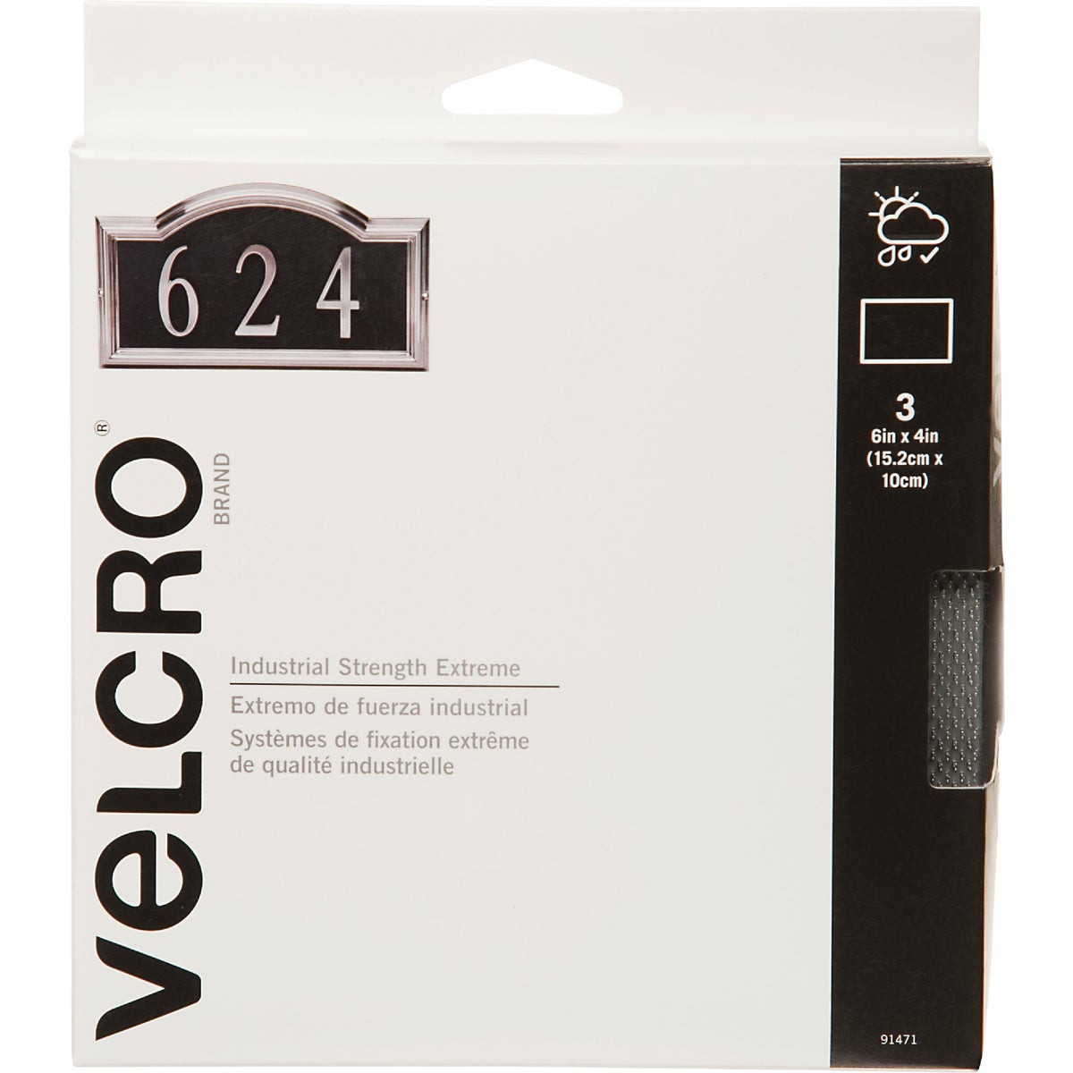 4X6 EXTREME STRIPS - 91471 by Velcro Usa