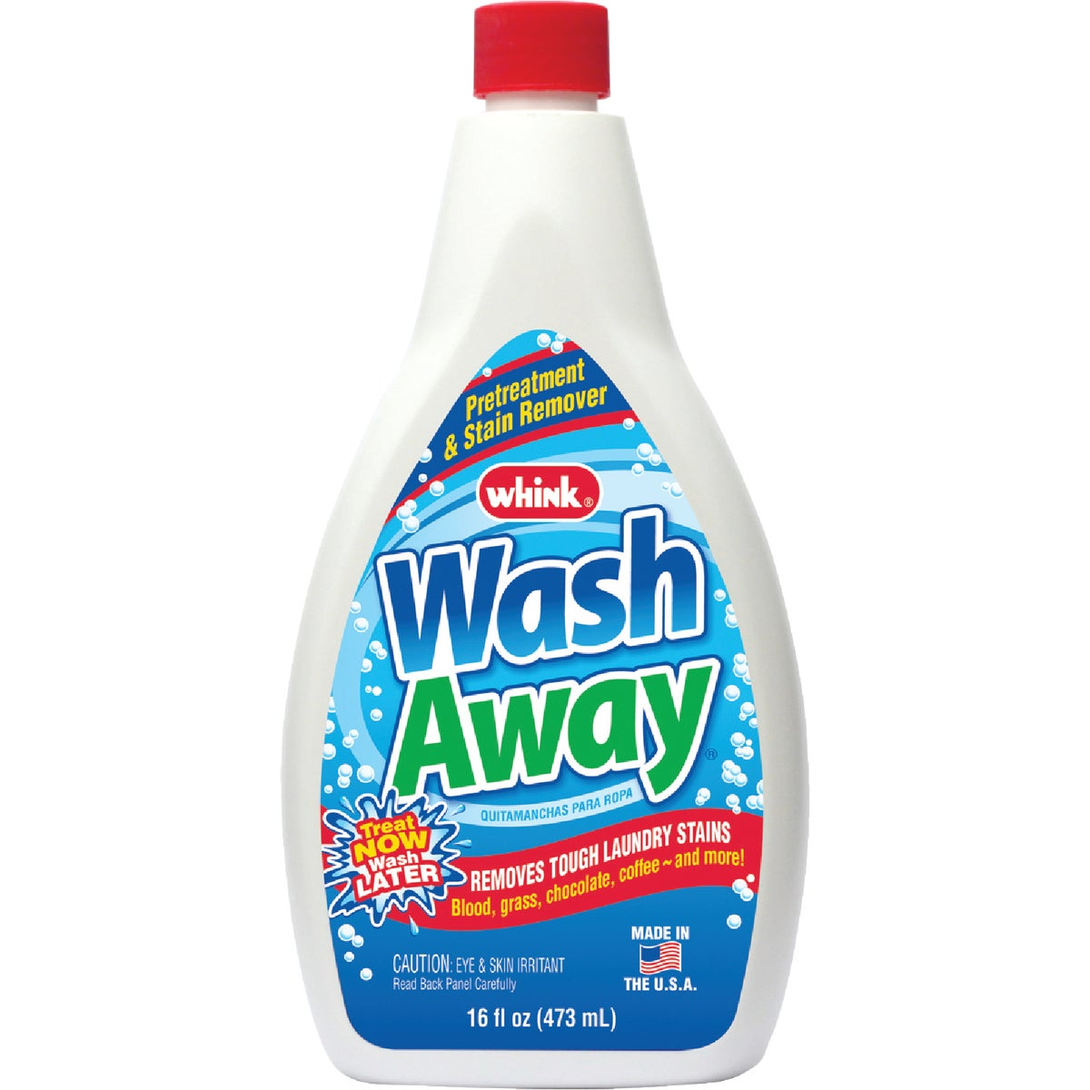 Whink Wash Away Laundry Stain Remover, 18261