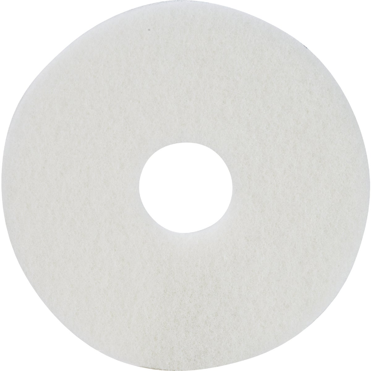 "13"" WHITE BUFFER PAD - TKL13W by Lundmark Wax Co"