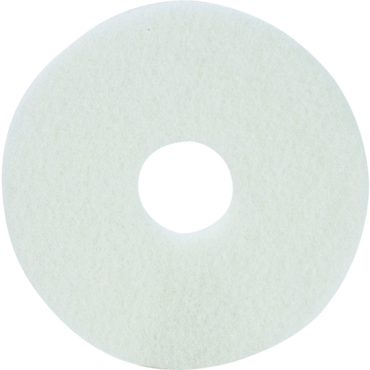 "20"" WHITE BUFFER PAD - TKL20W by Lundmark Wax Co"