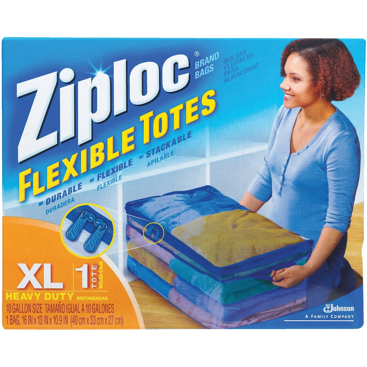 Johnson S C Inc XL ZIPLOC FLEX TOTE 70161