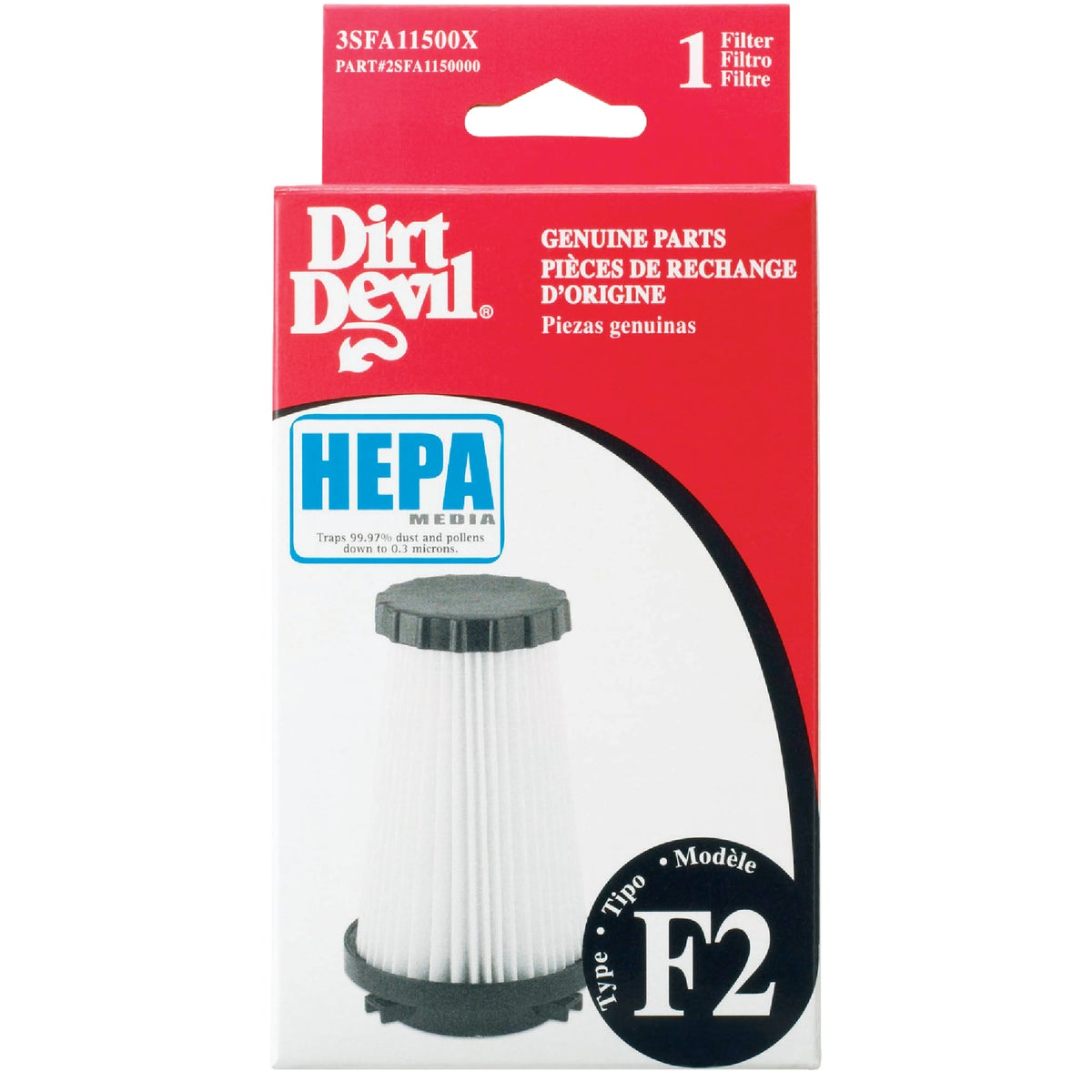 F2 HEPA FILTER - 3-SFA115-00X by Royal Appliance