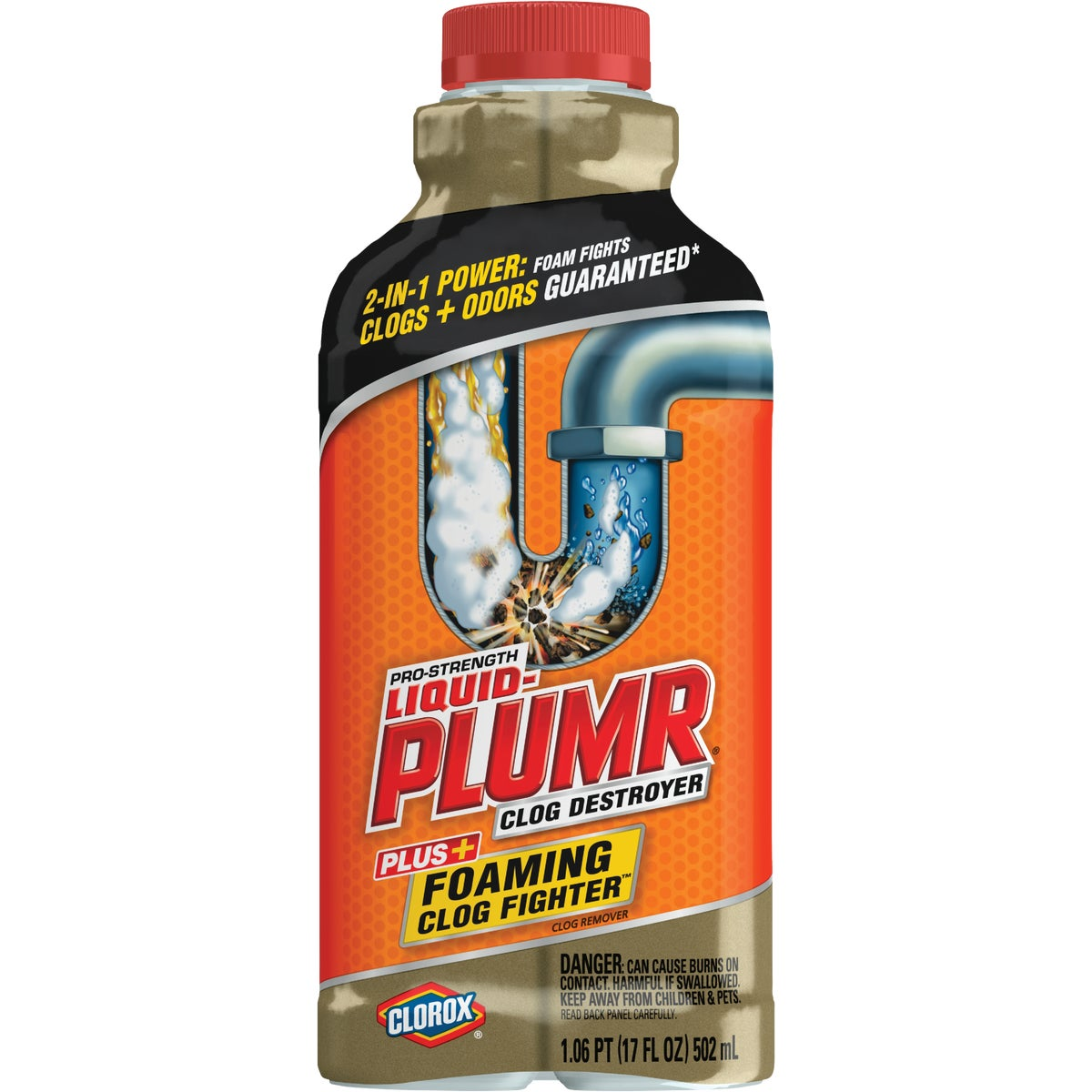 SLOWFLOW LIQUID-PLUMR - 00216 by Clorox/home Cleaning