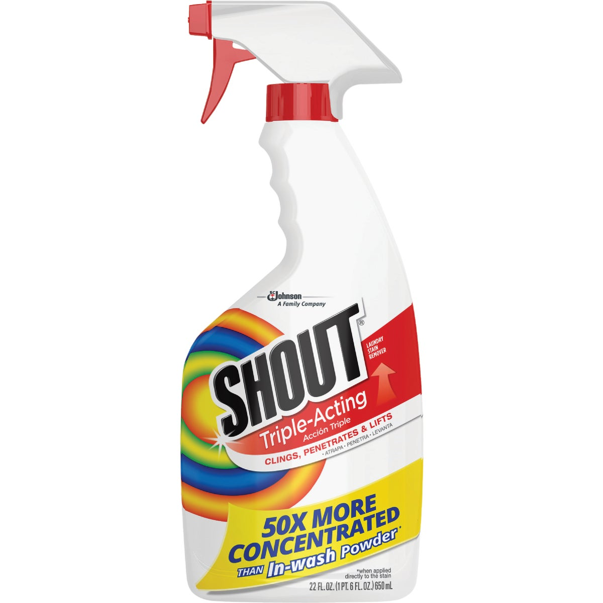 Shout Triple-Acting Stain Remover, 2251