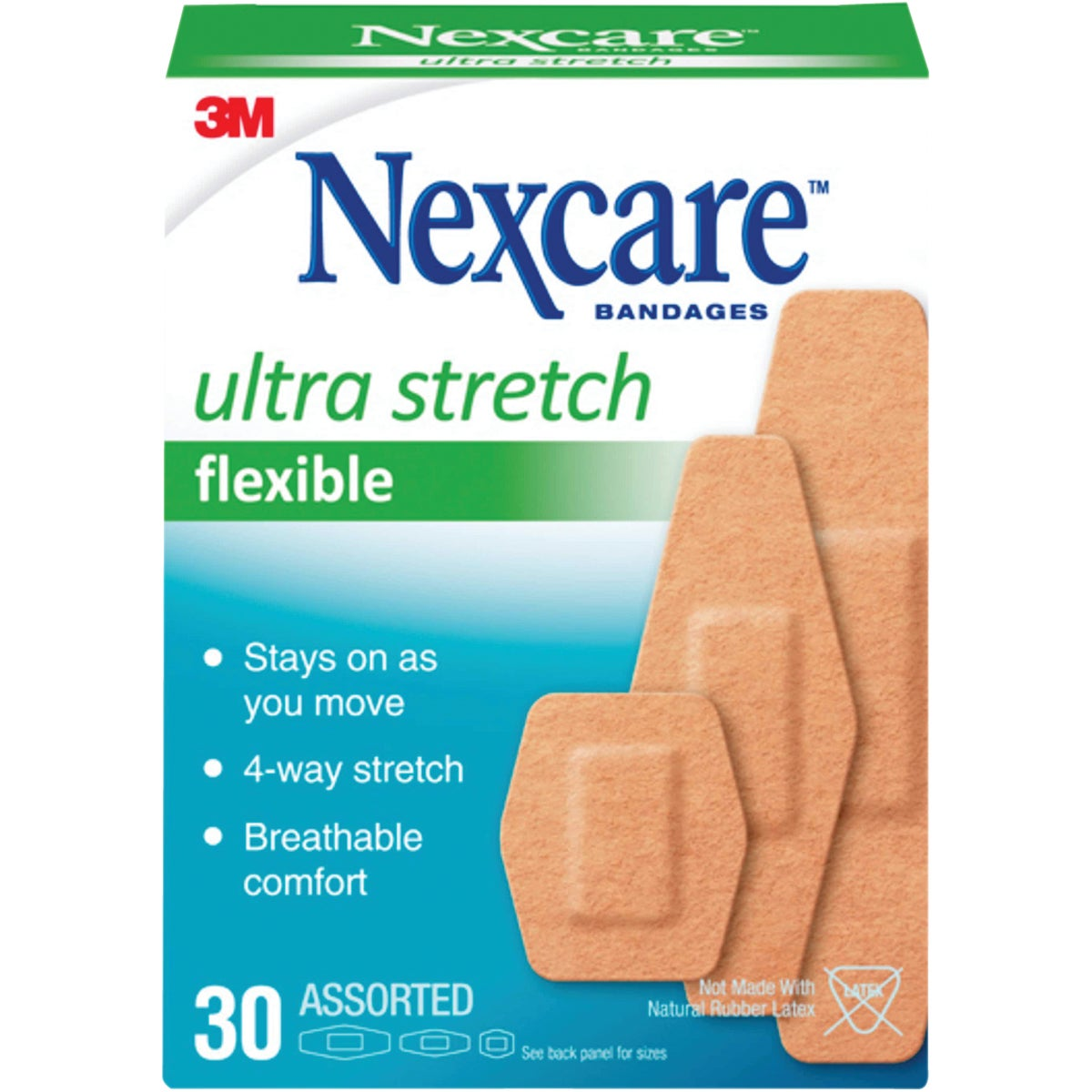 30CT COMFORT BANDAGES - 576-30PB by 3m Co