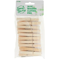 Do it Best Imports 20PC WOODEN CLOTHES PINS HH001-20