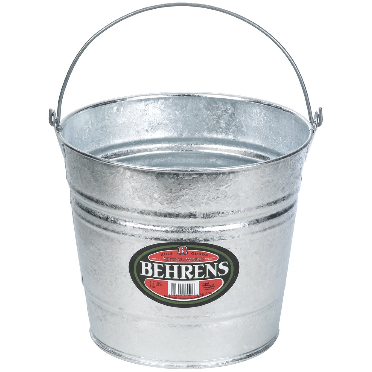 Hot-Dipped Steel Pail