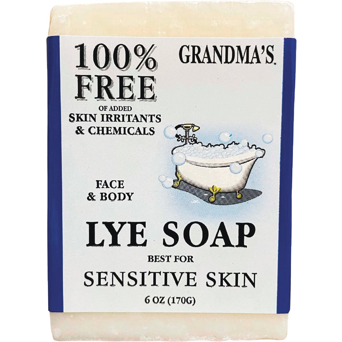 7OZ BAR LYE SOAP - 60018 by Remwood Prod Co