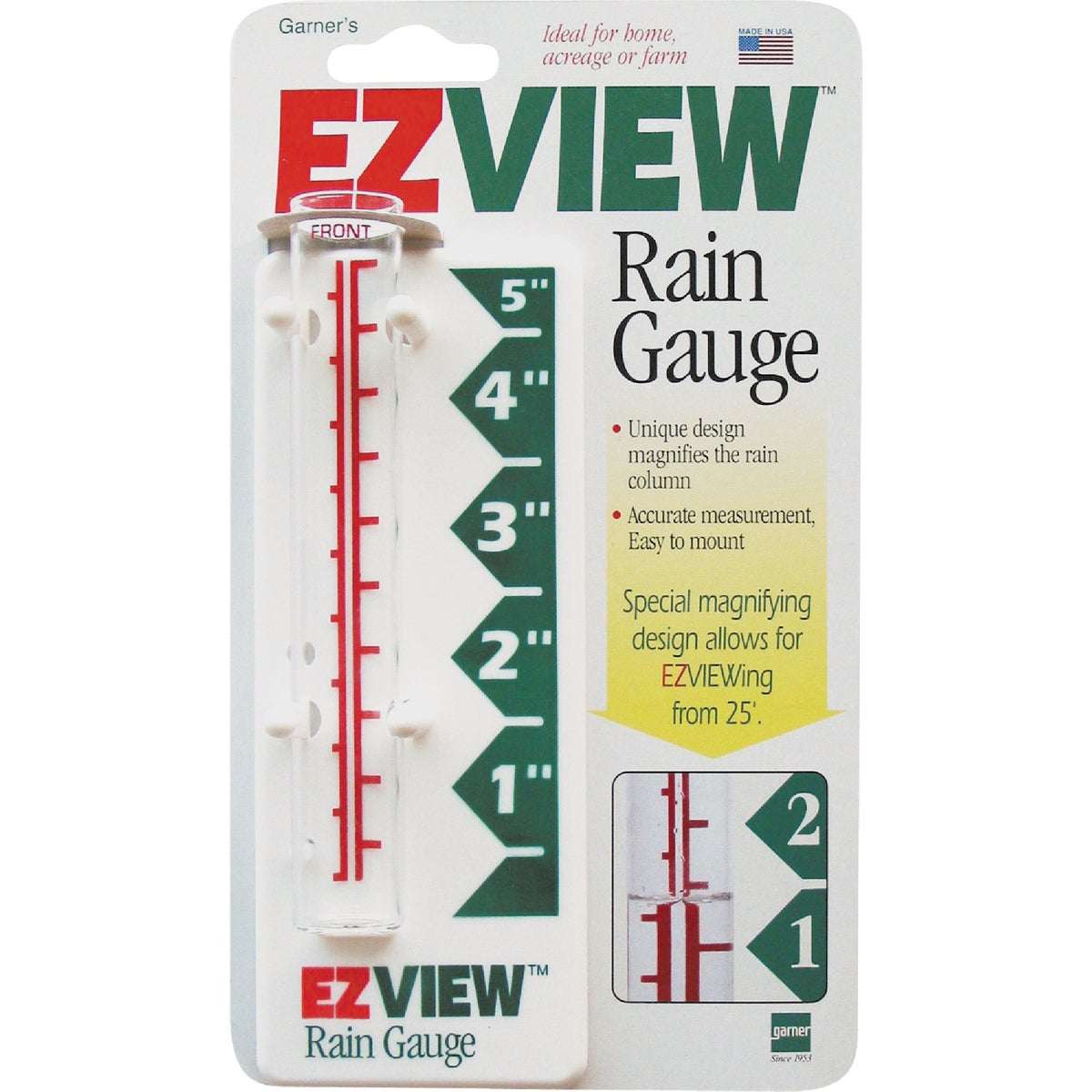 EZ VIEW RAIN GAUGE - 820-0188 by Headwind Consumer