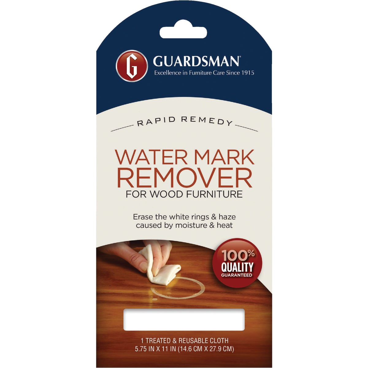 WATER MARK REMOVER CLOTH - 405200 by Valspar  Guardsman