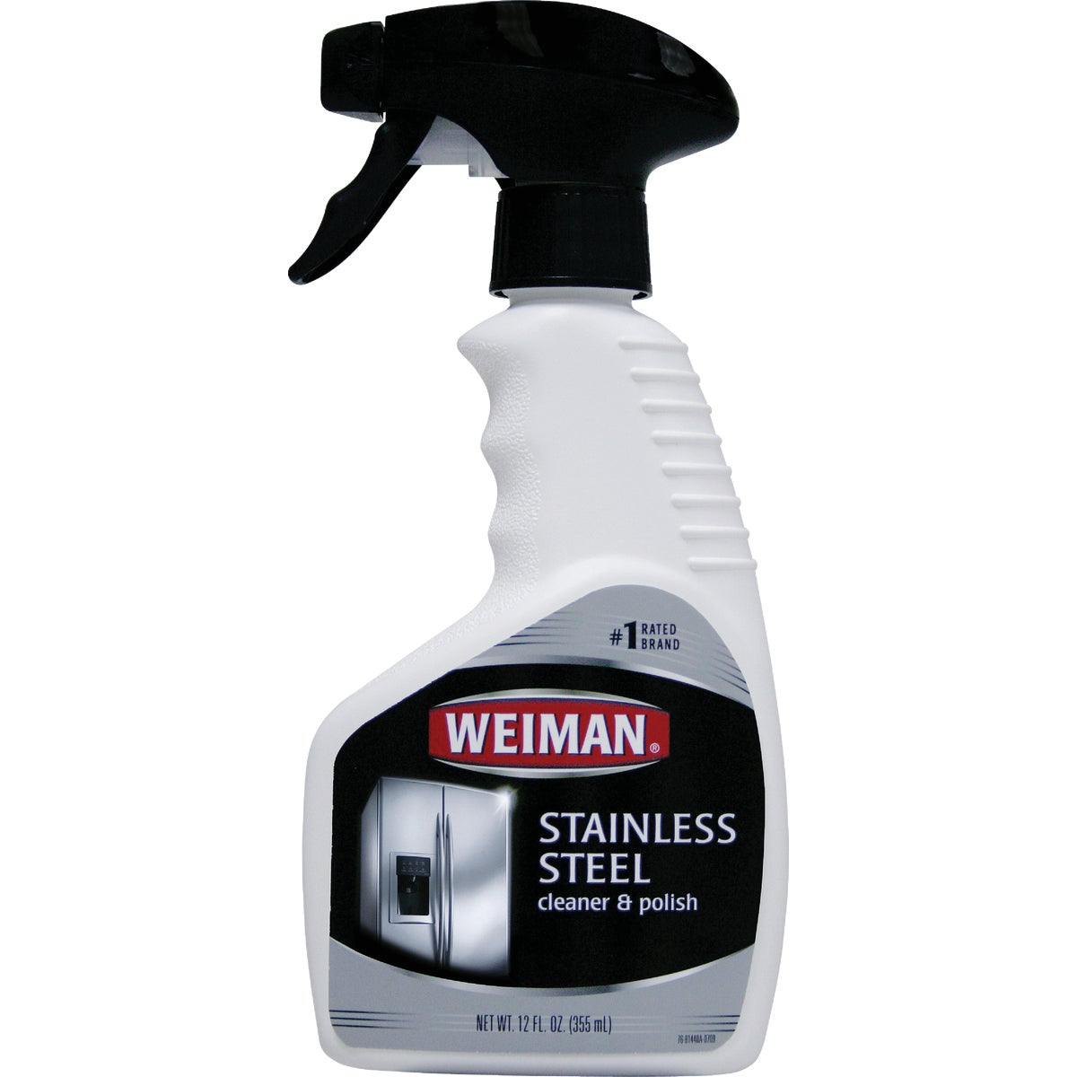 12OZ STAINLESS CLEANER - 76 by Weiman Products Llc