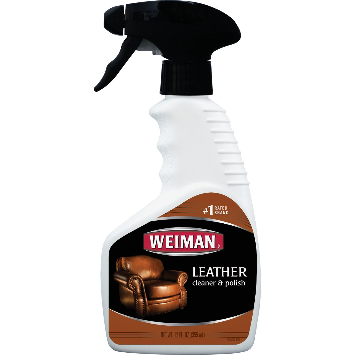 12OZ LEATHER CLEANER - 75 by Weiman Products Llc