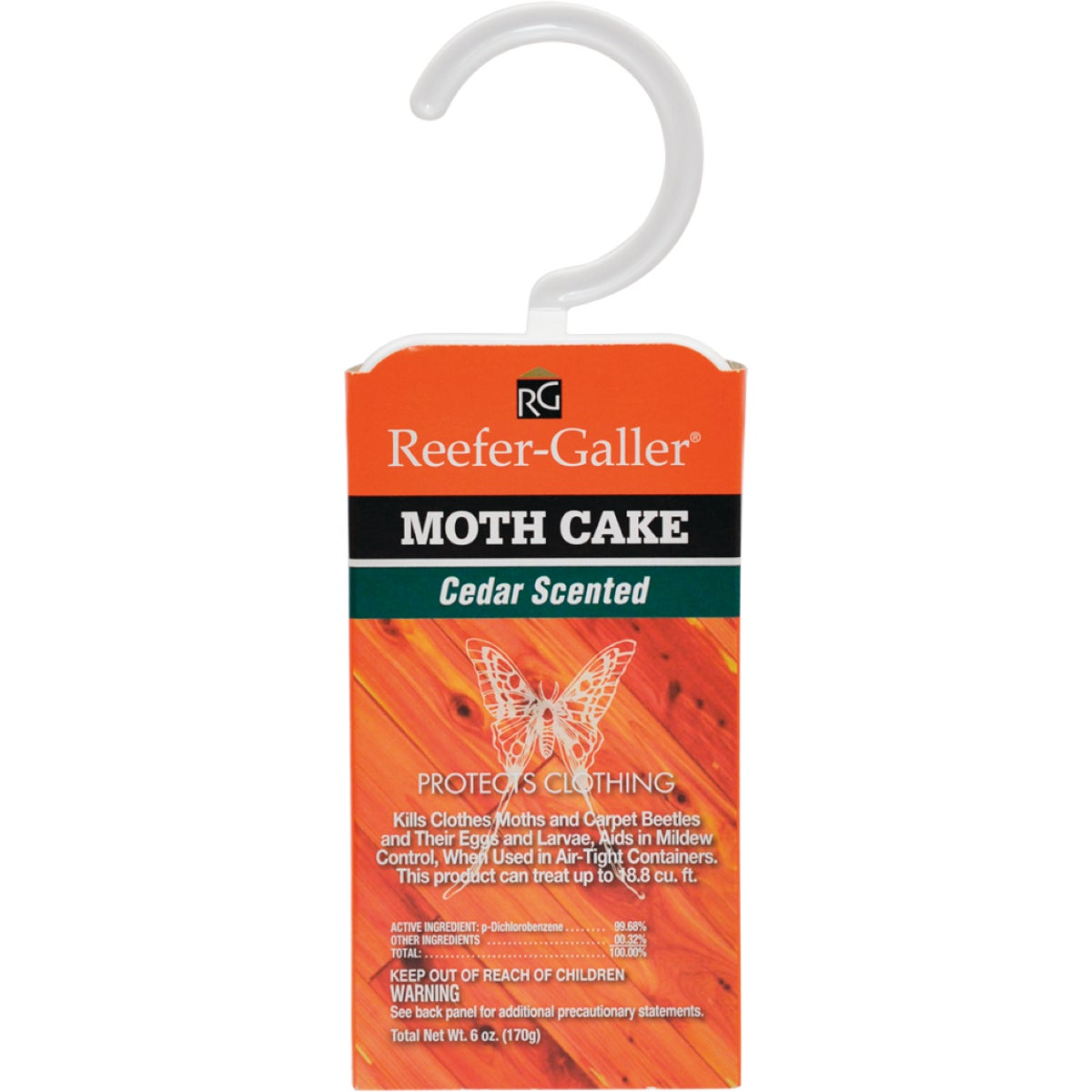 CEDAR HANGER MOTH CAKE - 1214 by Willert Home Prod