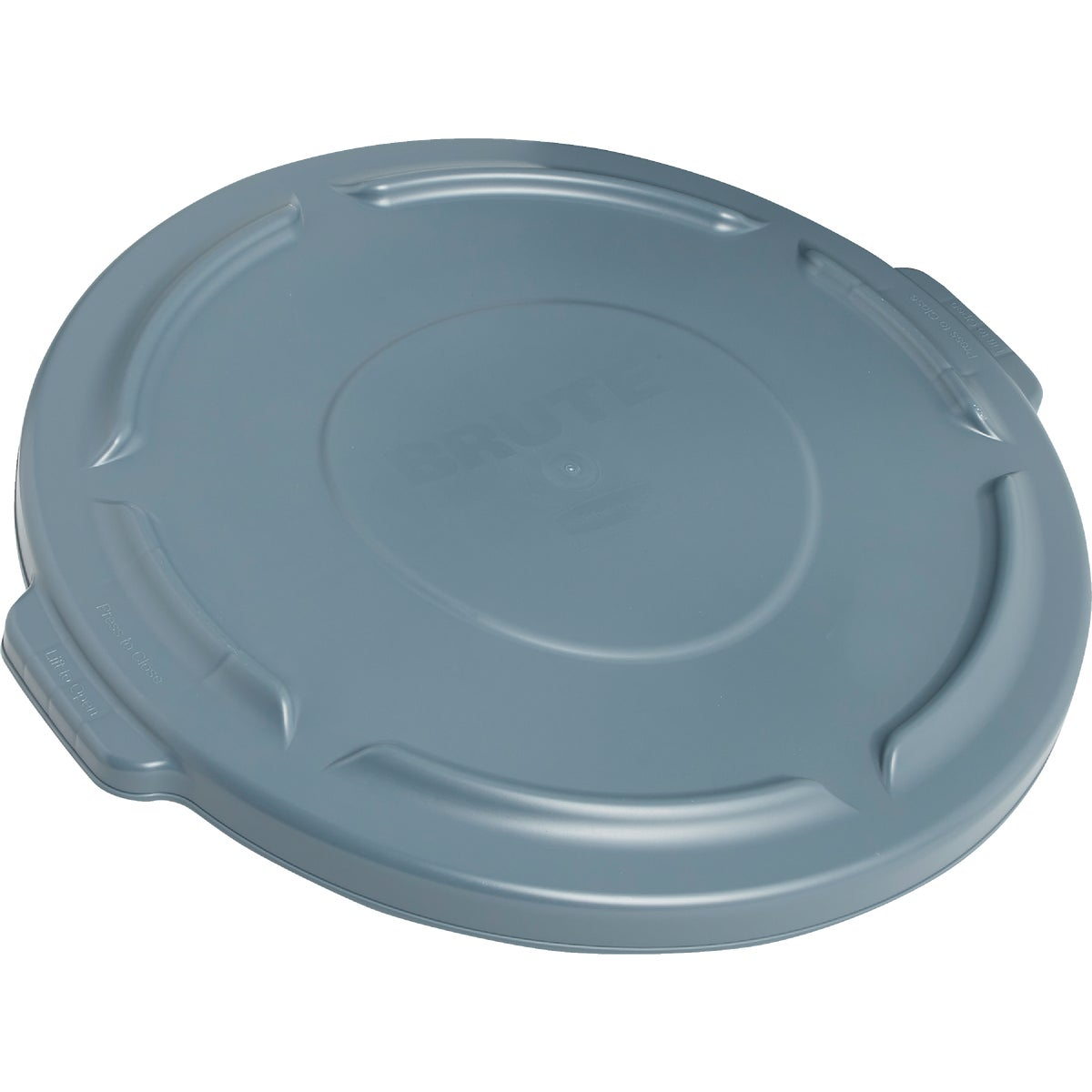 GRAY TRASH CAN LID