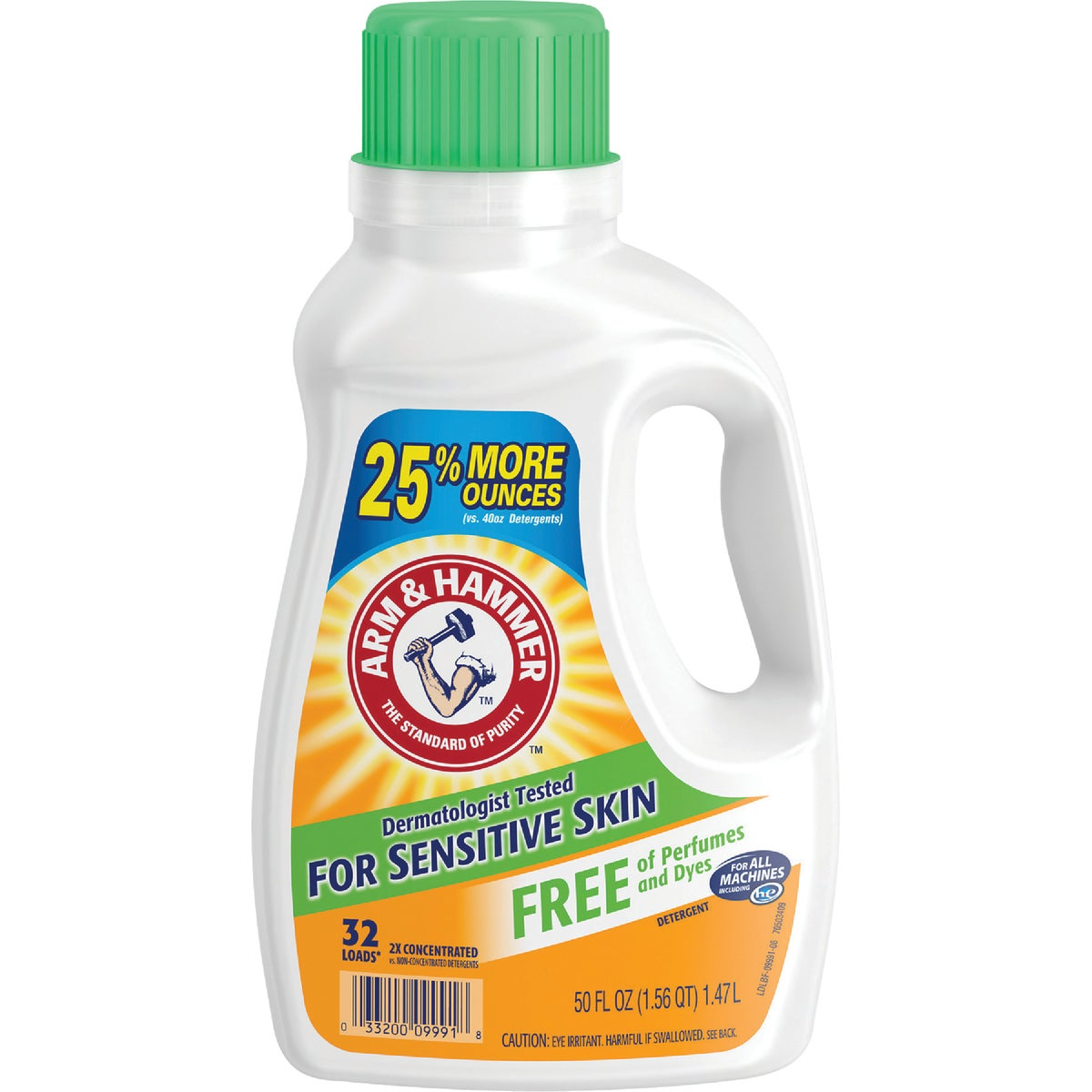 50OZ LAUNDRY DETERGENT - 09991 by Church & Dwight Co