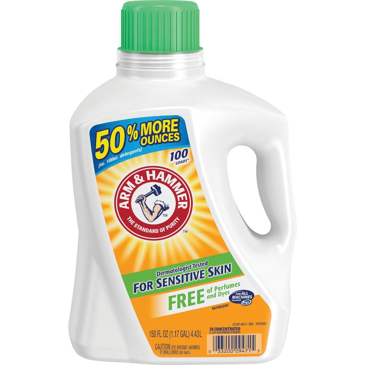 Arm & Hammer Sensitive Skin Liquid Laundry Detergent, 9471