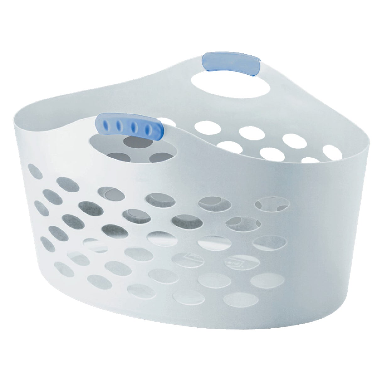 WHITE LAUNDRY BASKET - 260100-WHT by Rubbermaid Home