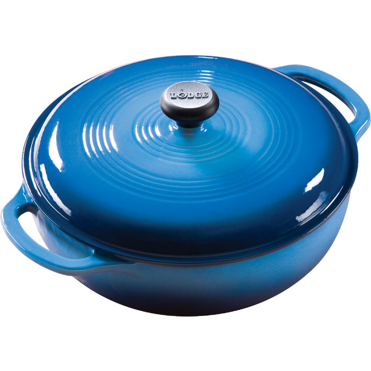 3QT BLUE DUTCH OVEN - EC3D33 by Lodge Mfg Co