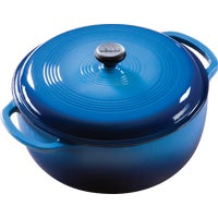 Lodge Mfg Co 6QT BLUE DUTCH OVEN EC6D33