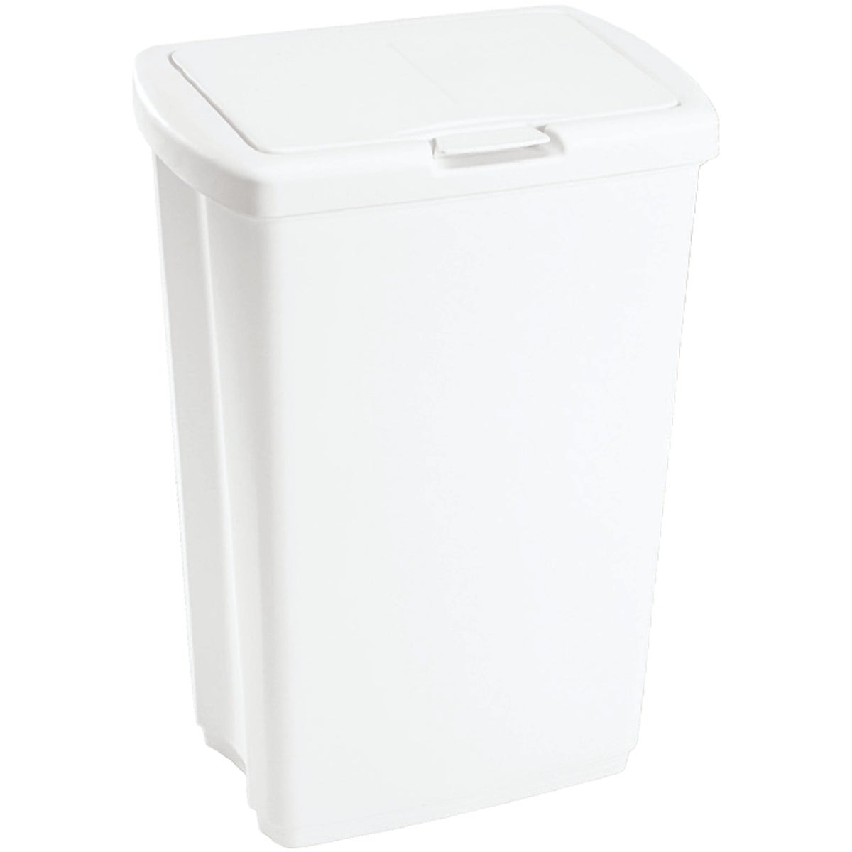53QT WHITE WASTEBASKET - 233900-WHT by Rubbermaid Home
