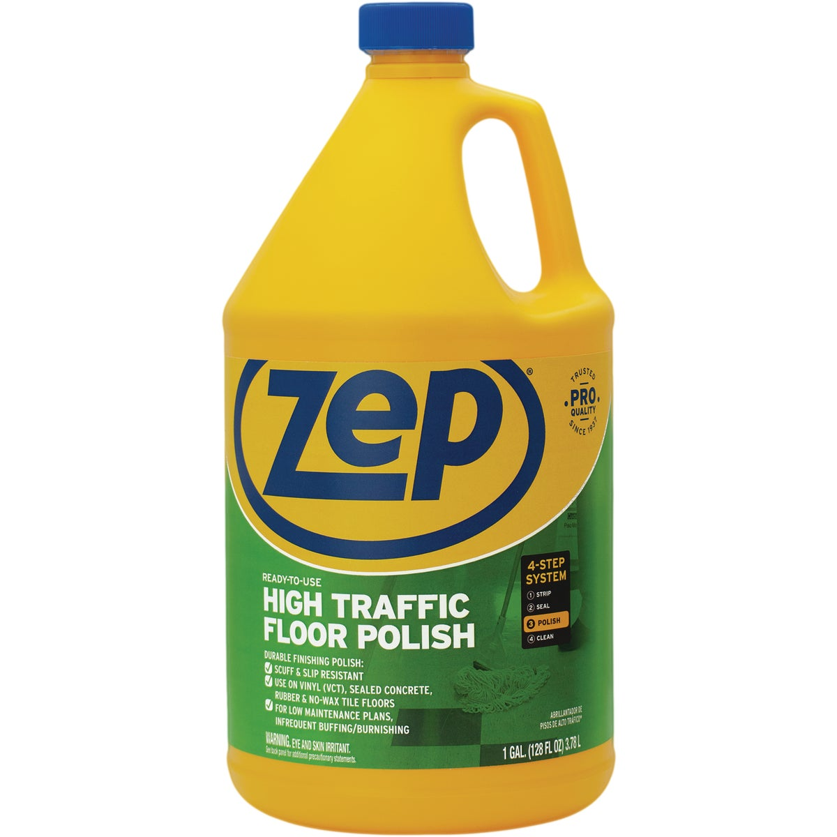 GAL HT FLOOR POLISH - ZUHTFF128 by Zep Enforcer Inc