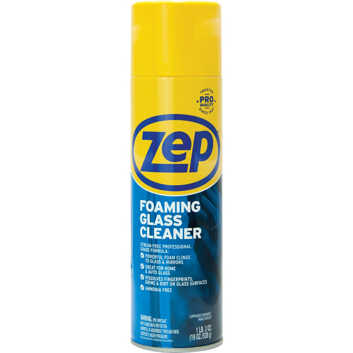 19OZ FOAM GLASS CLEANER - ZUFGC19 by Zep Enforcer Inc