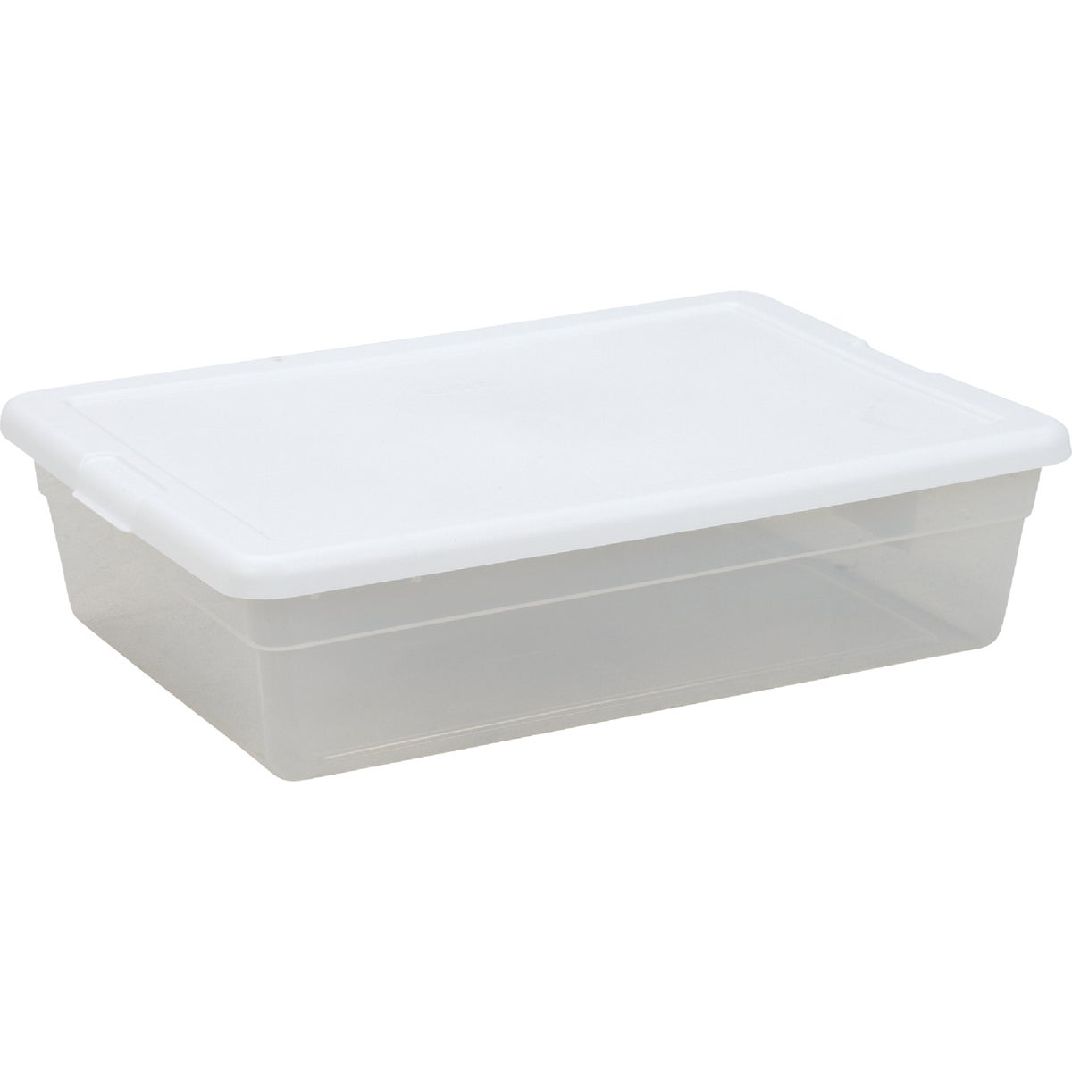 28QT CLEAR STORAGE BOX
