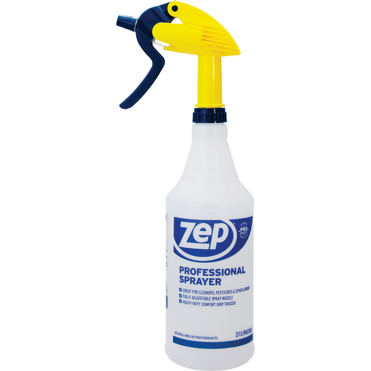 Zep Commercial Professional Spray Bottle, HDPRO36