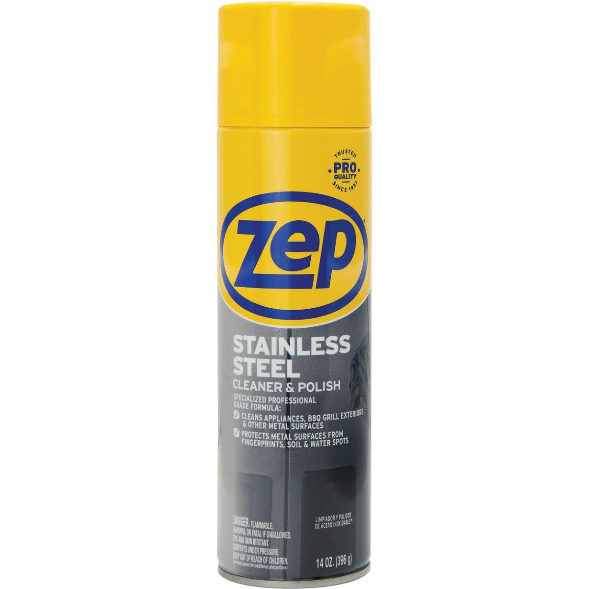 14OZ STAINLS STL CLEANER - ZUSSTL14 by Zep Enforcer Inc