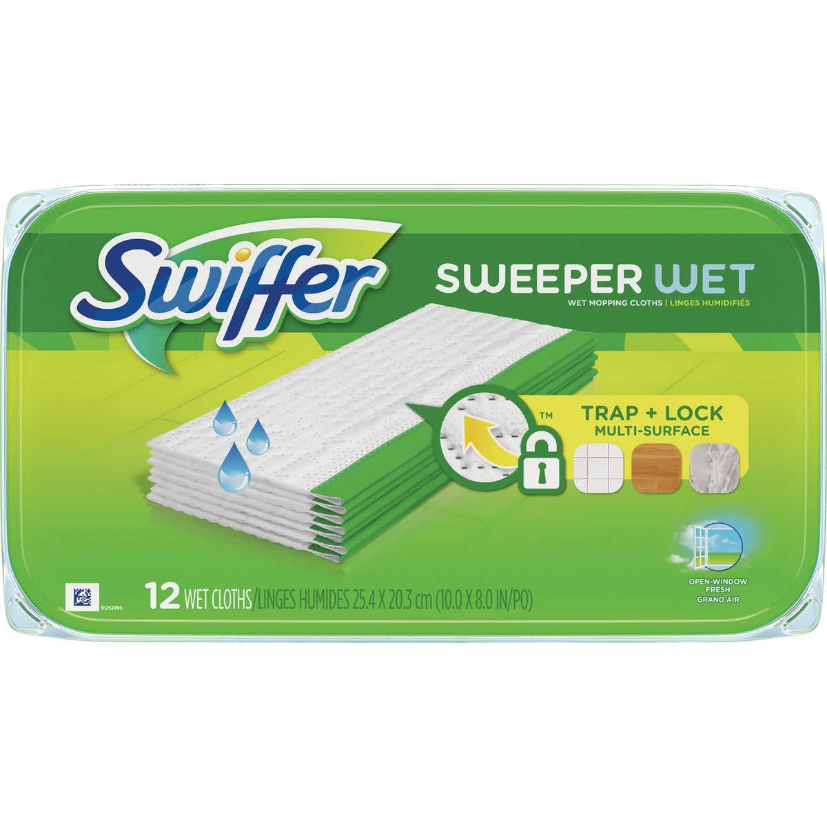 12CT SWIFFER WET CLOTHS