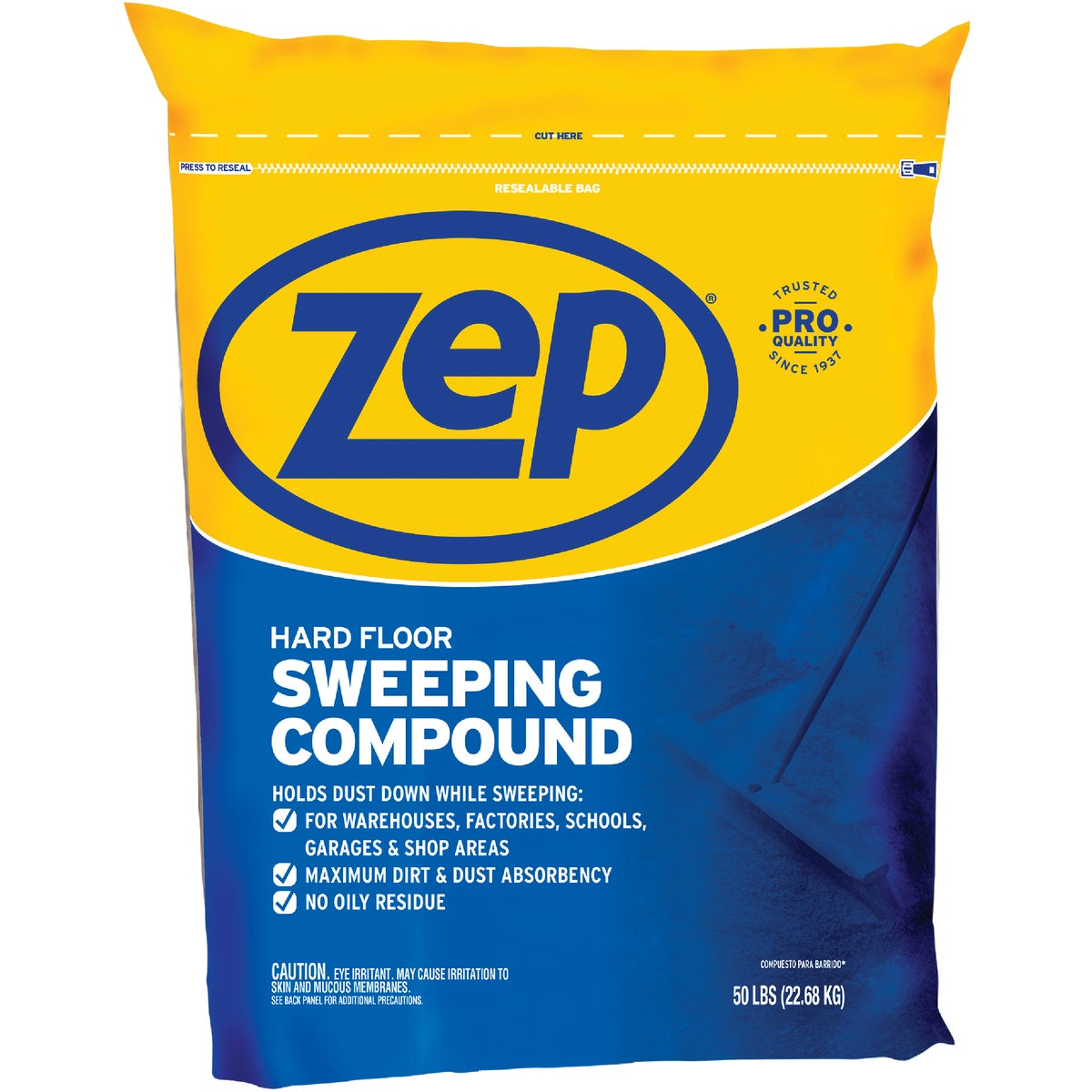 50LB SWEEPING COMPOUND - HDSWEEP50 by Zep Enforcer Inc