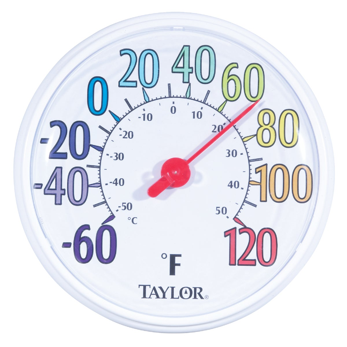 COLOR DIAL THERMOMETER