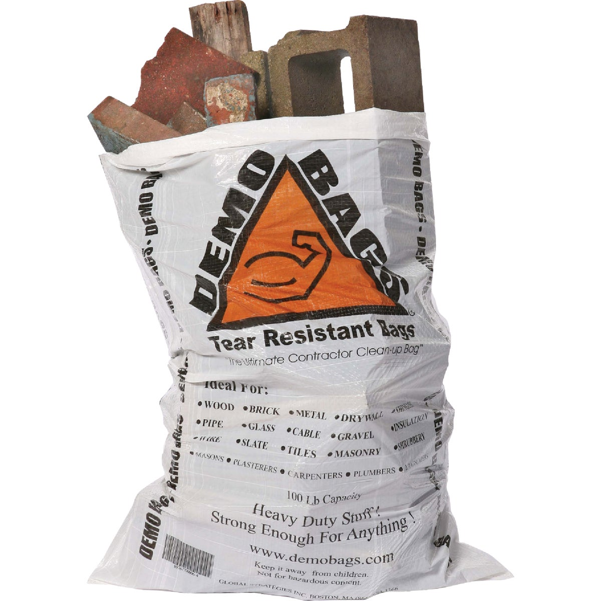 20 PACK 42GAL DEMO BAG - DB20 by Global Strategies