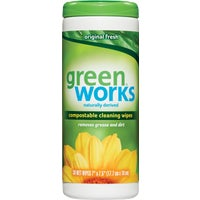 Clorox/Home Cleaning 30CT GREEN WORKS WIPES 30311