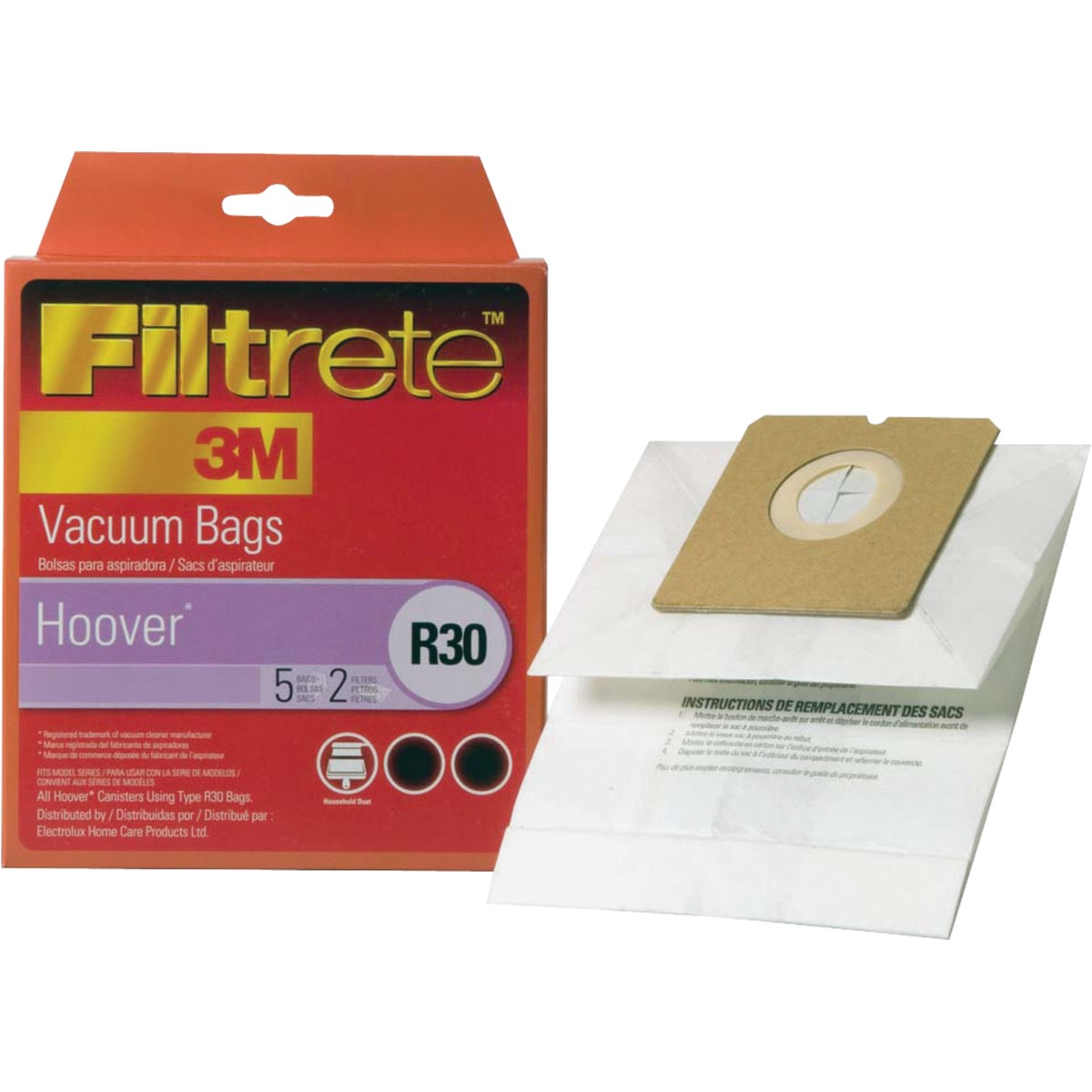 HOOVER R30 VACUUM BAG - 64706B-6 by Electrolux Home Care