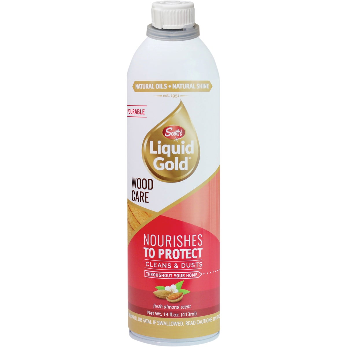 14OZ POUR WOOD CLEANER