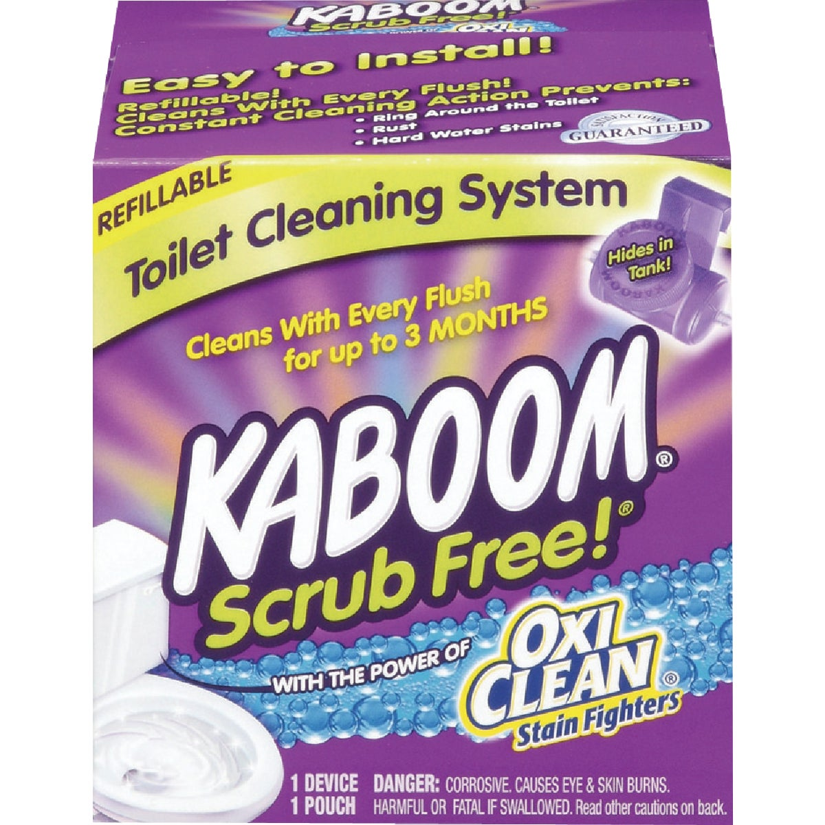 Toilet Cleaning System