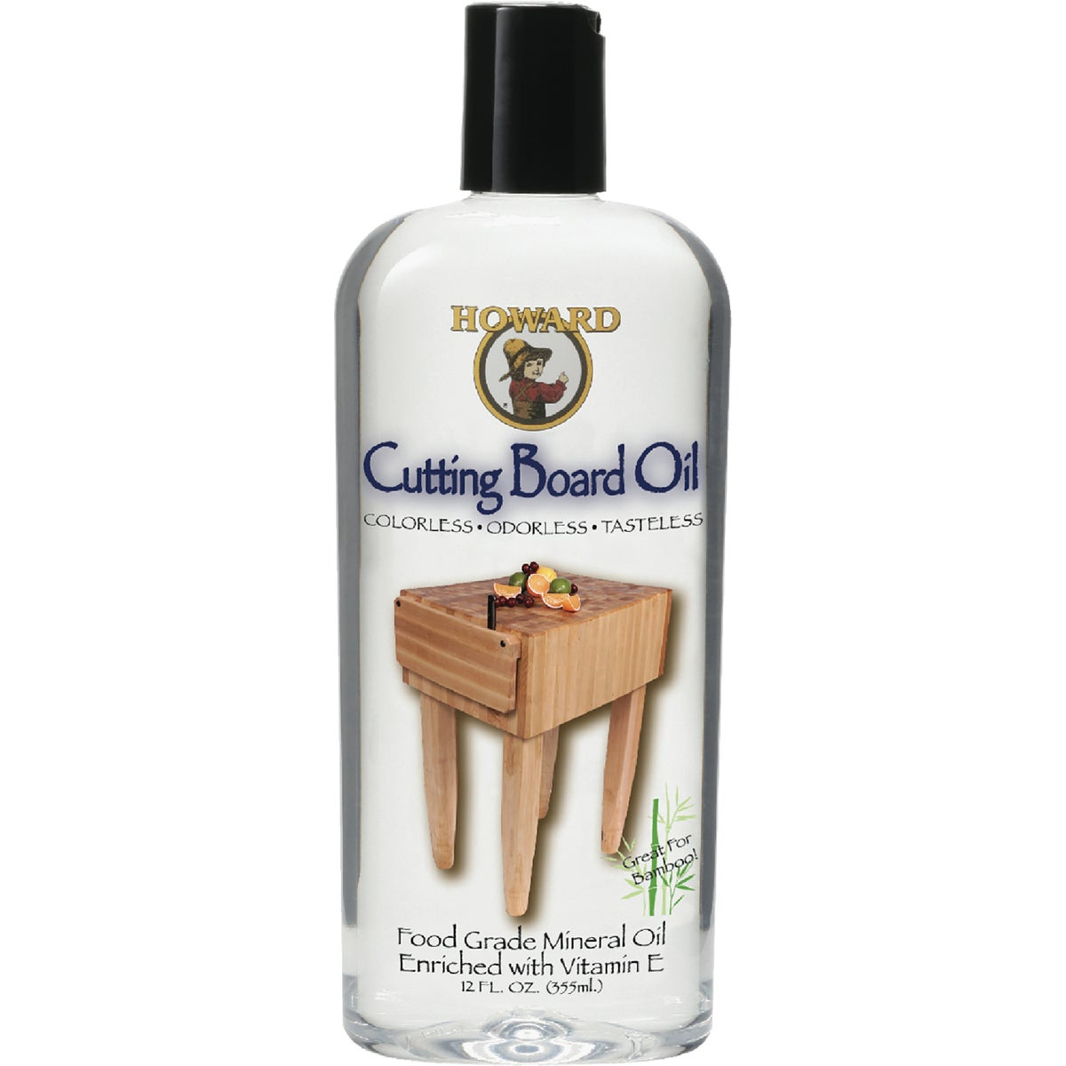 12OZ BUTCHER BLOCK OIL - BBB012 by Howard Products