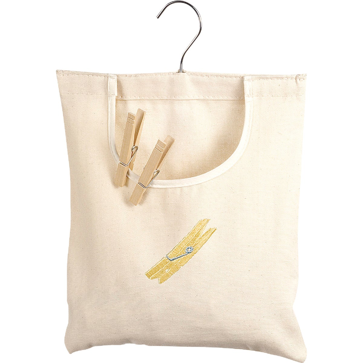 11X15 CLOTHESPIN BAG - 1220214 by Homz  Seymour