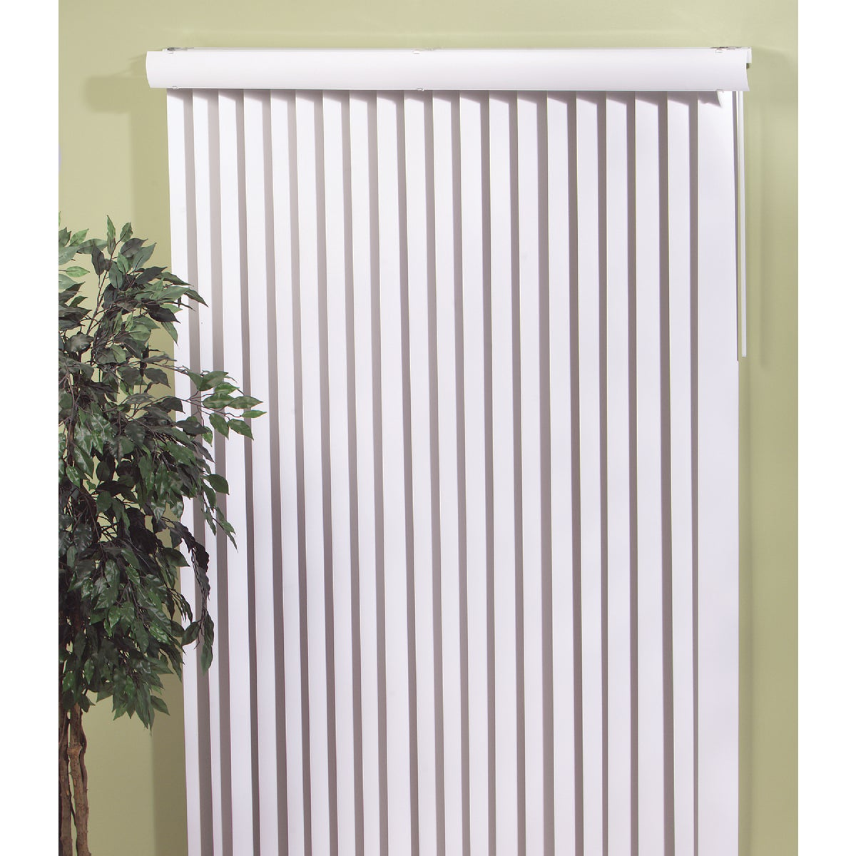 WHITE VERTICAL BLIND - 10484VW by Lotus Wind Incom
